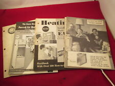 Vintage 1959 Lennox Furnace Home Heating Installation Instructions