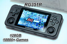 Rg351P Retro Handheld Console with Custom 128Gb - Ships from Usa - Ready to Play