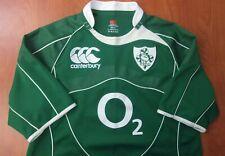 Canterbury Ireland Irish IRFU National Rugby Team Authentic Jersey XL ~NEW~