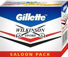 GILLETTE WILKINSON SWORD RAZOR BLADES Double Edge Safety Razor Blade 100 blades