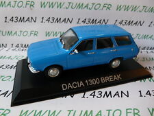 Voiture 1/43 IXO DEAGOSTINI Balkans : DACIA 1300 break