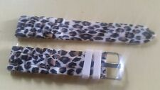 WATCH BAND BRACELET MONTRE  SILICONE**  ANIMAL 20mm *REF NB73