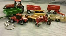9 Ertl Tootsie Toy Matchbox Maisto #115 Diecast Vintage Cars Trucks Key Chain