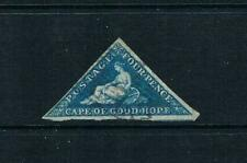 Cape of Good Hope - 1853 HOPE - BLUE on Lightly Blued Paper SC 2 [SG 4a] USED20A