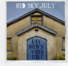 (FE363) Red Sky July, Lay Down Your Love - 2014 DJ CD