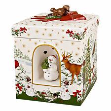 Villeroy & Boch Christmas Toys Geschenkpaket Weihnachtsbaum Porzellan Deko