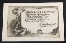 Johnson Walker Tolhvrst Jewellery Gallery Invitation Laurence Koe Engraving 1800