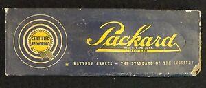 1939-54 PACKARD BATTERY CABLE SEALED BOX NASH FRAZER HUDSON WILLYS DE SOTO DODGE