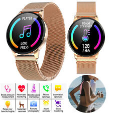 Sport Bluetooth Smart Watch Wrist Band For Android Samsung S7 S8 S9 Huawei P30