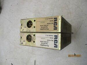 2    RCA   BA-72   mic  pre-amplifier