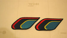 logo bordado de asientos para peugeot 205 rallye