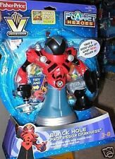 PLANET HEROES FISHER PRICE BLACK HOLE PROF. DARKNESS