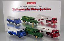Wiking 099082 Set Tankwagen im deutschen Alltag Scale 1 87 NEU OVP