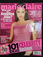 Marie Claire Magazine October 2002 Angelina Jolie Cover