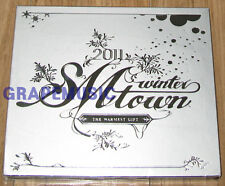 GIRLS' GENERATION SHINee 2011 SMTOWN Winter: The Warmest Gift SILVER CD + POSTER
