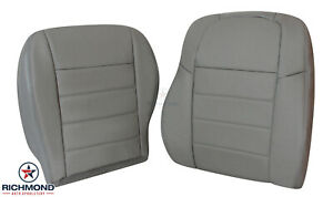 2005 Dodge Magnum RT 5.7L HEMI - Driver Side Complete Leather Seat Covers Gray