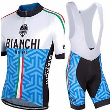 Completo ciclismo/Cycling Jersey and pants Team Bianchi 2017