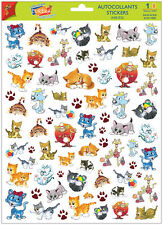 A4 Sticker Sheet Cute Kittens for Scrapbooking & Cardmaking over 60 Stickers NEW