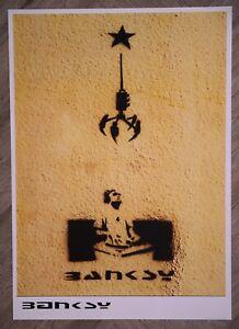Banksy Grab a DJ and make a star Poster A2