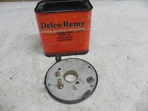 DELCO REMY #1915300 NOS DISTRIBUTOR BREAKER PLATE 1950-1955 NASH AMBASSADOR 6CYL
