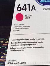HP Magenta toner cartridge 641A   4600, 4610, 4650 series