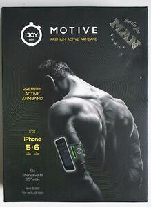 Brand New IJOY SPORT Motive Armband for Men, iPhone 6, 7, 8, SE - Grey