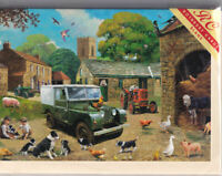 Landrover Series 1 On The Farm Greetings Card - blank inside, birthday, Rothbury