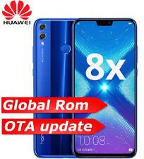 "Huawei Honor 8X Azul 6.5"" 4GB 64GB Unlocked Dual Sim 4G LTE Android 8.1 Phone"