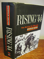1st/1st Printing RISING 44 Norman Davies BATTLE FOR WARSAW War HISTORY Military