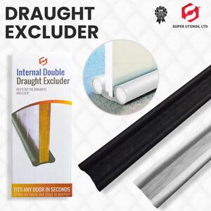 Twin Door Foam Stopper Door Draft Stoppers Excluder Insulate Cold Air Stopper