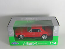Bburago - Maisto - Welly -  Motor Max 1:24 Hier Ford Mustang Coupe neu i.OVP