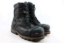 "Timberland Pro Men's 8"" Boondock CTCP Black Work Boot Wide UK 10/ EU 44/ 3155"