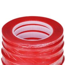 1mm/2mm/3mm/5mm/10mm Red Tape Heat Resistant Double Sided Adhesive Sticker