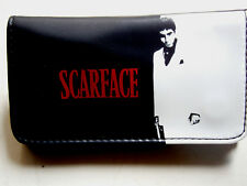 SCARFACE MAFIA ITALY GANGSTER TOBACCO POUCH CASE WALLET Pacino Pfeiffer MOVIE
