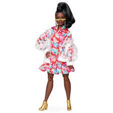Muñeca Barbie Vestido Floral Con Capucha BMR1959
