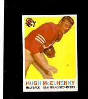 10039* 1959 Topps # 5 Hugh McElhenny NM-MT
