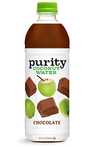 Purity Organic Chocolate Coconut Water 16.9 oz ( Pack of 6 )