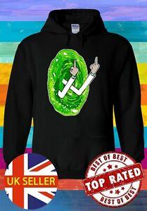 Pickle Rick & Morty Funny Joke Hoodie Novelty Pullover Men Women Unisex V231