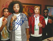 """Gym Class Heroes REAL hand SIGNED 8x10"""" Photo Autographed w/ COA ALL 4 Members"""