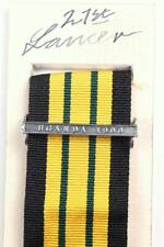EDVII AGSM AFRICA GENERAL SERVICE MEDAL CLASP or RIBBON BAR UGANDA 1900