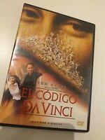 DVD EL CODIGO DA VINCI CON TOM HANKS  , MAGISTRAL PELI