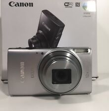 Canon IXUS 275 HS Compact Digital Camera - Silver (20.2 MP, 12x Optical Zoom