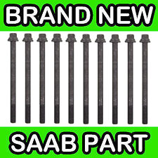Saab 9-3 Sports 2.0L Turbo Engines (03-)  Cylinder Head Bolts (x10)