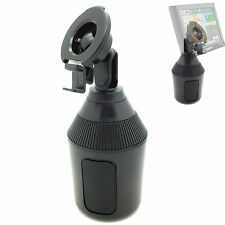Low Profile Drinks Cup Holder Mount for Garmin Nuvi 65 66 66LMT 67 68 LM LMT GPS