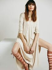 NEW FREE PEOPLE Sophie Maxi Soft Knit Dress - S - One 4 Autumn Winter Season