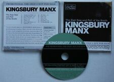 Kingsbury Manx Fast Rise And Fall Of The South Adv CD Folk