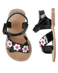 NWT GYMBOREE DAISY PARK DAISY SANDALS 4 5 6 8 9 10 SHOES GIRLS Toddler