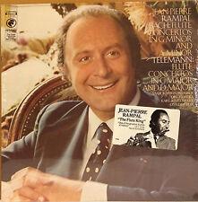 Jean-Pierre Rampal / Bach - Telemann Flute Concertos sealed vinyl LP 1974