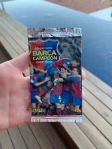 Panini 2004 Megacracks Barca Campeon Sealed Pack Lionel Messi Rookie RC? PSA 10