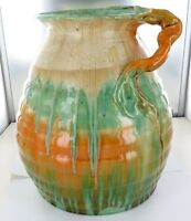 .SUPER RARE / HUGE 26CMS HIGH REMUED EARLY SERIES 217/10 DRIP GLAZE VASE.